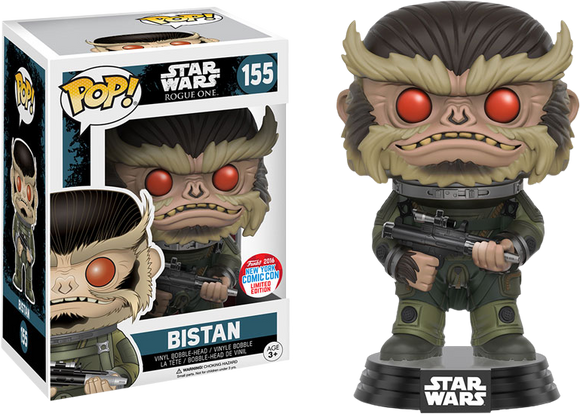Star Wars: Rogue One - Bistan NYCC 2016 US Exclusive Pop! Vinyl