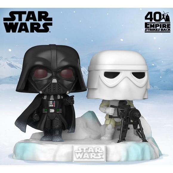 Star Wars - Darth Vader & Stormtrooper US Exclusive Pop! Vinyl Deluxe Diorama