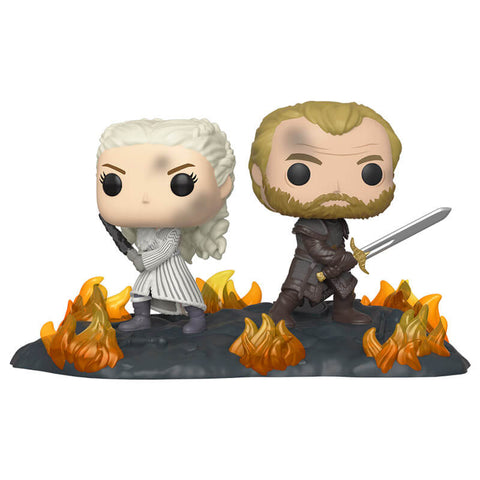 *Pre-order* Game of Thrones - Daenerys & Jorah Back to Back Movie Moment Pop! Vinyl (ETA October)