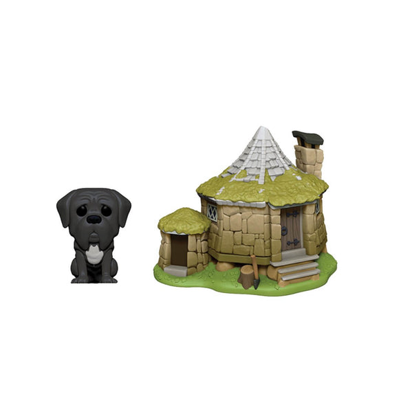 Harry Potter - Fang with Hagrid's Hut Pop! Vinyl Town