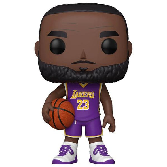 NBA: Lakers - LeBron James Purple Jersey 10