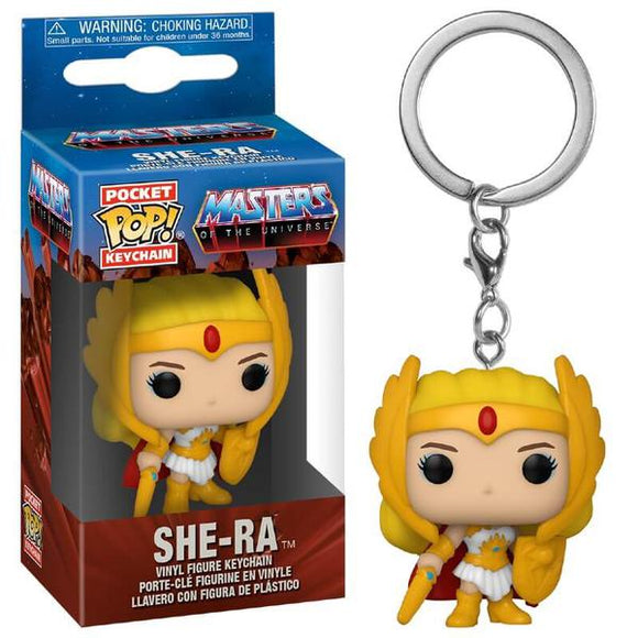 *Pre-order* Masters of the Universe - She-Ra Classic Pocket Vinyl Pop! Keychain (ETA December)