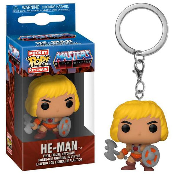 *Pre-order* Masters of the Universe - He-Man Pocket Pop! Vinyl Keychain (ETA December)