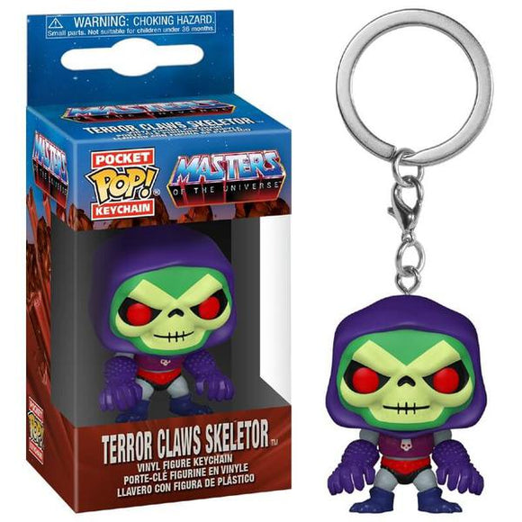 *Pre-order* Masters of the Universe - Skeletor with Terror Claws Pocket Pop! Vinyl Keychain (ETA December)