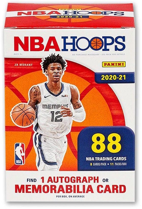 PANINI 2020-21 Hoops Basketball Blaster Box