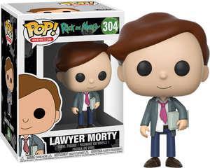 Rick and Morty - Lawyer Morty Pop! Vinyl