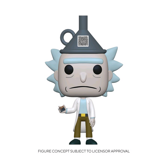 *Pre-order* Rick and Morty - Rick with Funnel Hat US Exclusive Pop! Vinyl (ETA April)