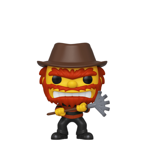 Simpsons - Evil Groundskeeper Willie NYCC 2019 Exclusive Pop! Vinyl