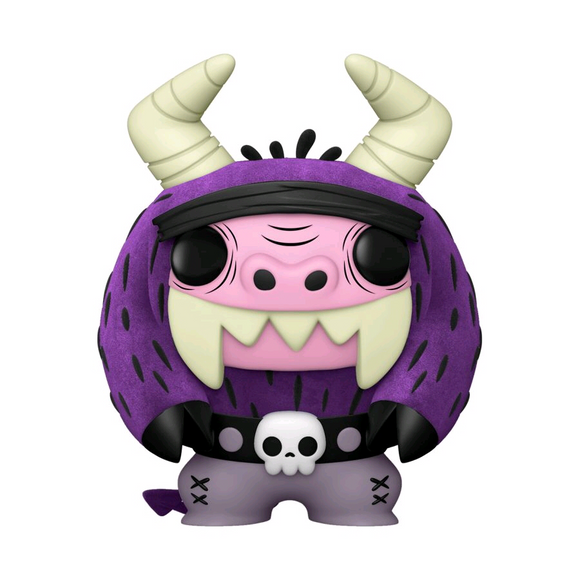 *Pre-order* Foster's Home for Imaginary Friends - Eduardo Flocked US Exclusive Pop! Vinyl (ETA March)