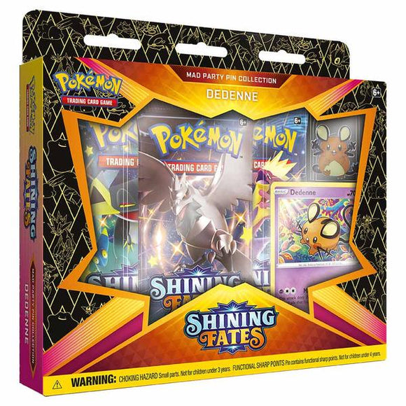 *Pre-order* Pokemon - TCG - Pin Collection - Shining Fates Mad Party (ETA March)