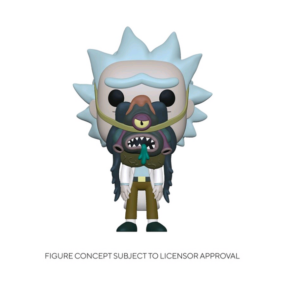 *Pre-order* Rick and Morty - Rick with Glorzo Pop! Vinyl (ETA April)