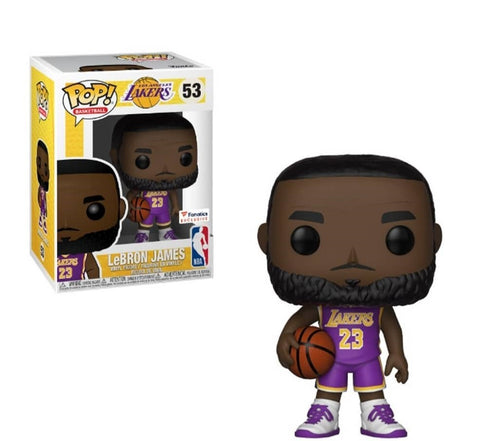 NBA: Lakers - Lebron James (Purple) US Exclusive Pop! Vinyl