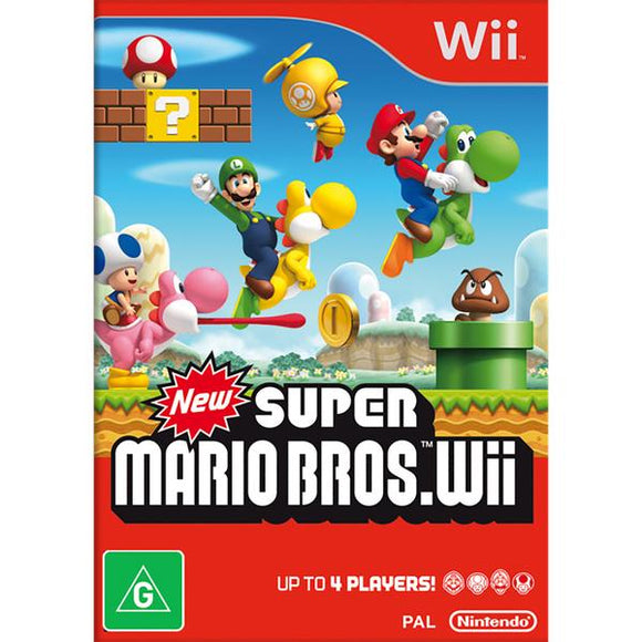 New Super Mario Bros. Wii (Pre-Played)
