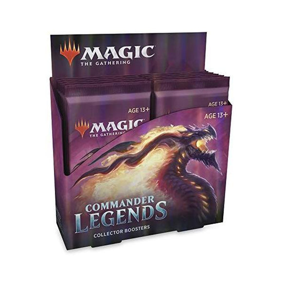 *Pre-order* Magic The Gathering - Commander Legends Collector Booster Box (20th November)