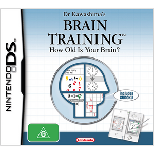 Brain Training: Train Your Brain in Minutes A Day DS (Pre-Played)