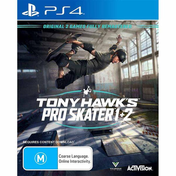 Tony Hawk's Pro Skater 1+2 PS4 (Pre-Played)