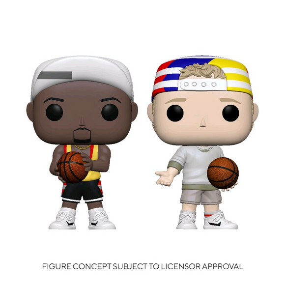*Pre-order* White Men Can't Jump - Billy & Sydney US Exclusive Pop! Vinyl 2-pack (ETA May)