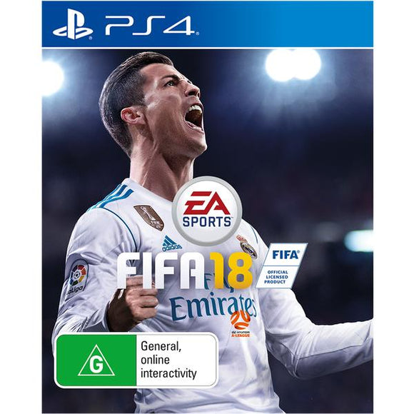 FIFA 18 PS4 (Pre-Played)