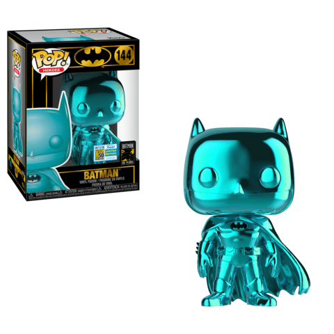 Batman - Batman Teal Chrome Pop! Vinyl SD19
