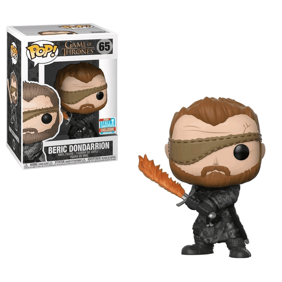 Game Of Thrones - Beric Dondarrion NYCC 2018 Exclusive Pop! Vinyl
