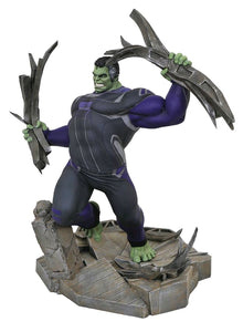 "Avengers 4: Endgame - Hulk Marvel Gallery 9"" Scale PVC Diorama Statue"