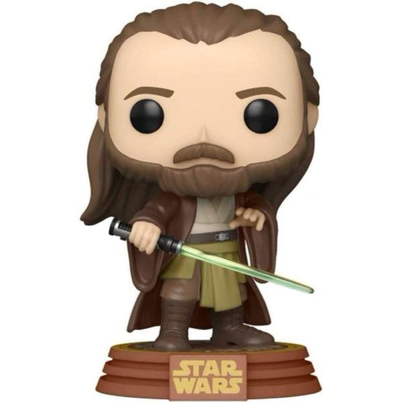Star Wars: Across the Galaxy - Qui-Gon Jinn US Exclusive Pop! Vinyl
