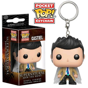 Supernatural - Castiel with Wings US Exclusive Pocket Pop! Vinyl Keychain