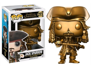 Pirates of the Caribbean 5: Jack Sparrow Gold US Exclusive Pop! Vinyl
