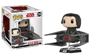 Star Wars - Kylo Ren with TIE Fighter Ep8 Pop! Vinyl Deluxe