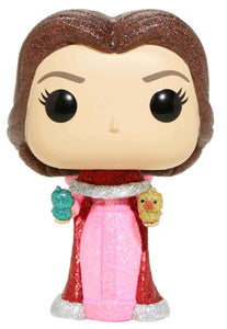 Beauty and the Beast - Belle with Birds Diamond Glitter US Exclusive Pop! Vinyl