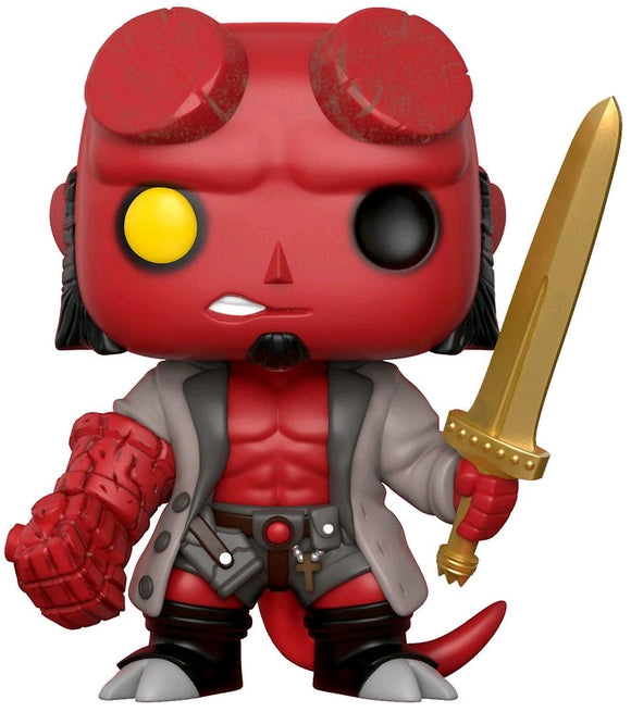 Hellboy - Hellboy with Sword US Exclusive Pop! Vinyl