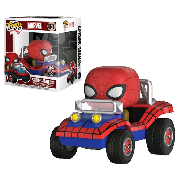Spider-Man with Spider Mobile US Exclusive Pop! Vinyl Ride