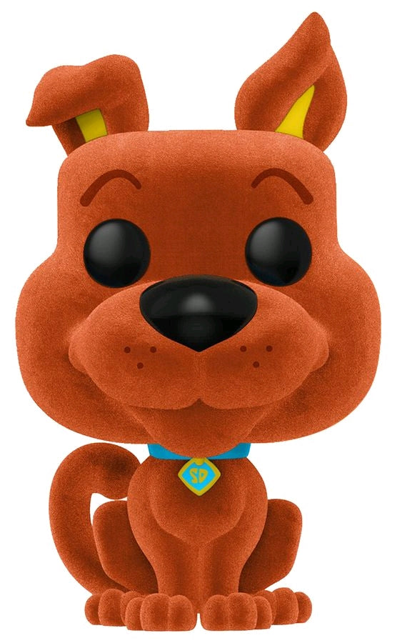 *Pre-order* Scooby Doo - Scooby Doo Orange Flocked US Exclusive Pop! Vinyl