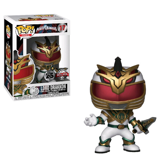 Power Rangers Lord Drakkon US Exclusive Pop! Vinyl
