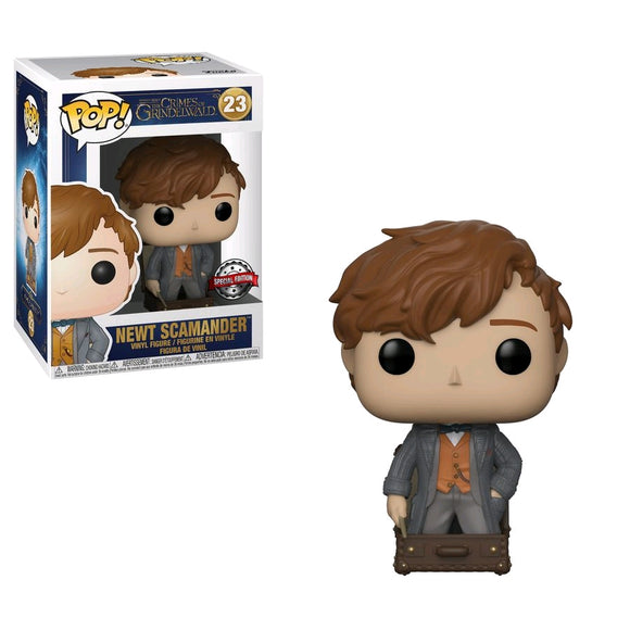 Fantastic Beasts 2: The Crimes of Grindelwald - Newt in Suitcase US Exclusive Pop! Vinyl