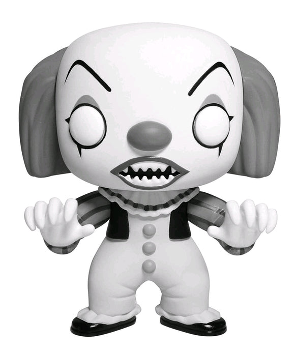 It - Pennywise Black & White US Exclusive Pop! Vinyl