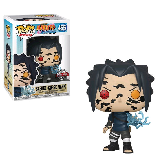 *Pre-order* Naruto - Sasuke Curse Mark US Exclusive Pop! Vinyl (ETA TBA)