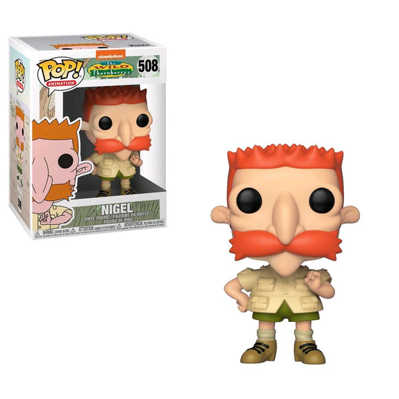 The Wild Thornberrys - Nigel Pop! Vinyl