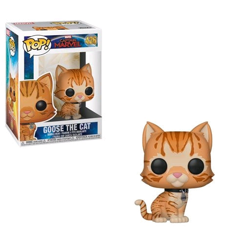Captain Marvel - Goose the Cat Pop! Vinyl