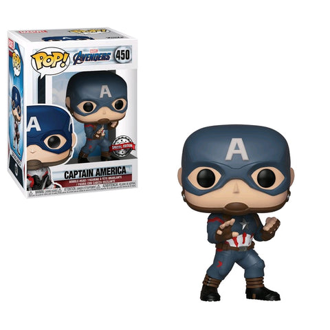 Avengers 4: Endgame - Captain America US Exclusive Pop! Vinyl