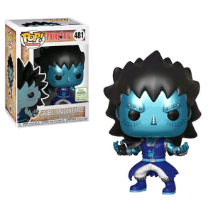 Fairy Tail - Gajeel Dragon Force ECCC 2019 US Exclusive Pop! Vinyl