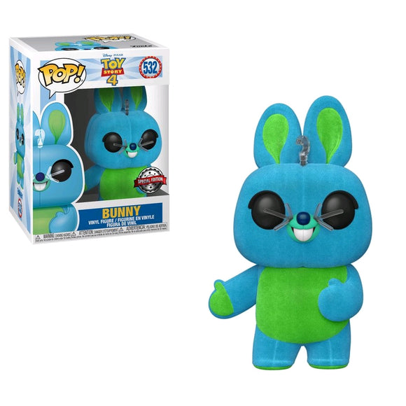Toy Story 4 - Bunny Flocked US Exclusive Pop! Vinyl