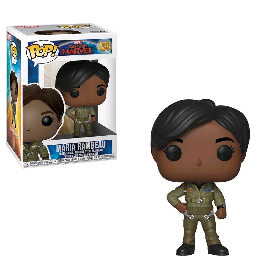 Captain Marvel - Maria in Flight Suit Pop! Vinyl