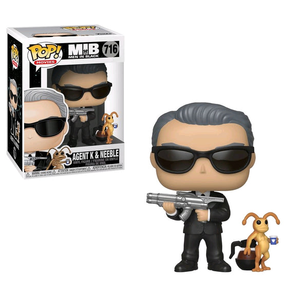Men in Black - Agent K & Neeble Pop! Vinyl