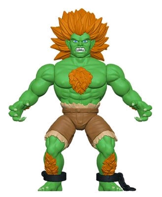 Street Fighter - Blanka Savage World Action Figure