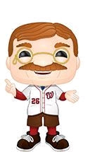 MLB - Teddy Roosevelt Pop! Vinyl