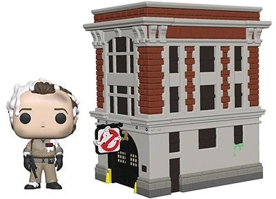 Ghostbusters - Peter Venkman with Firehouse Pop! Vinyl Town