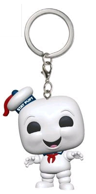 Ghostbusters - Stay Puft Pocket Pop! Vinyl Keychain
