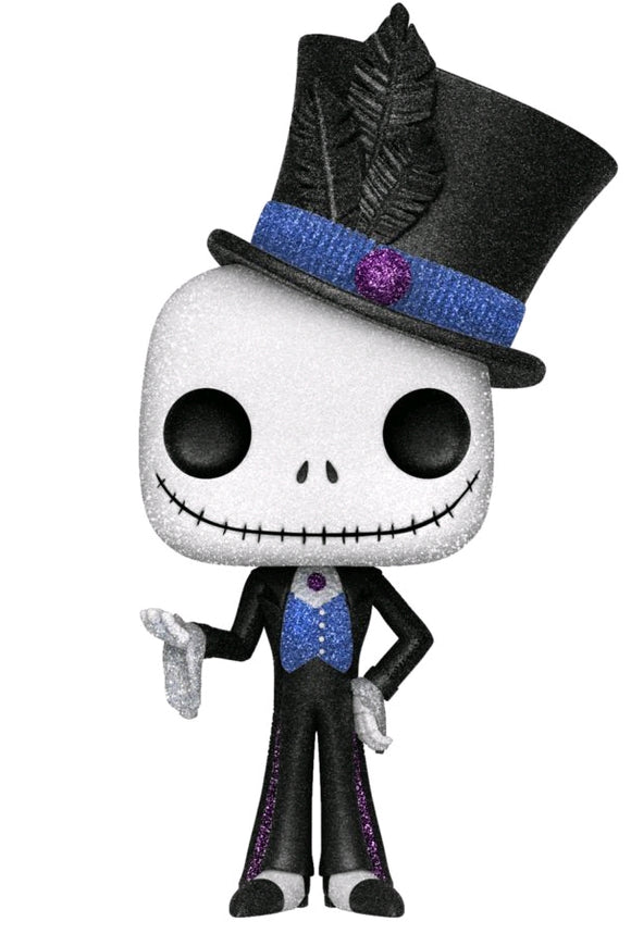 The Nightmare Before Christmas - Dapper Jack Diamond Glitter US Exclusive Pop! Vinyl