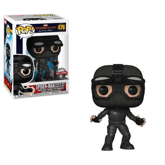 Spider-Man: Far From Home - Stealth Suit Goggles Up US Exclusive Pop! Vinyl
